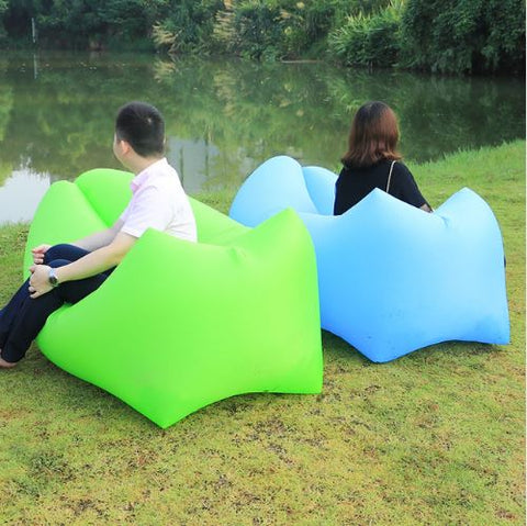 Laybag Sleeping Camping Beach Air Sofa - FREE SHIPPING