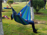 Hot 2018 1 Person Outdoor Camping Hammock Strong Fabric 150 kg - FREE SHIPPING