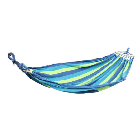 Hot 2018 2 Person Outdoor Camping Hammock Strong Fabric 450lb - FREE SHIPPING