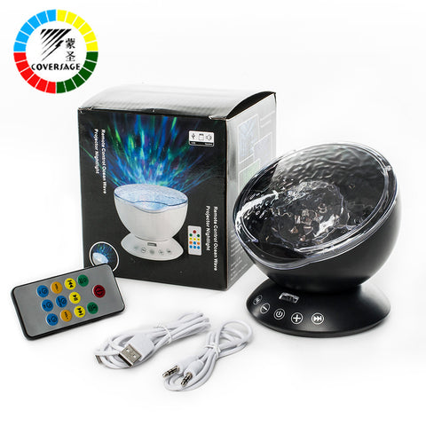 Aurora Ocean Wave Projector with Remote Control + FREE SHIPPING