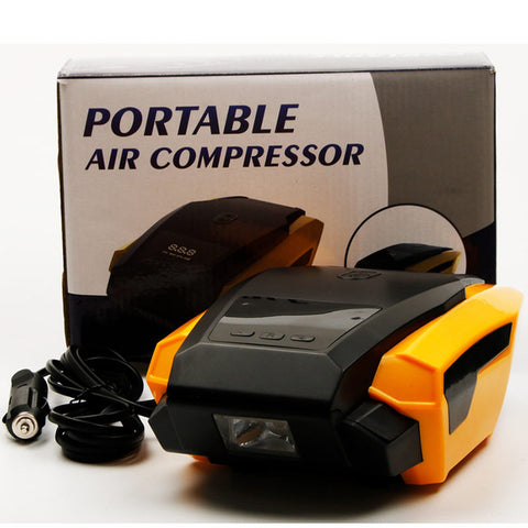 Hot 2018 Portable Air Compressor Pump Automobile Tire Air Boat + FREE SHIPPING