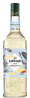 Giffard Chocolate Cacao White Syrup : 1000 ml - Cafe Select
