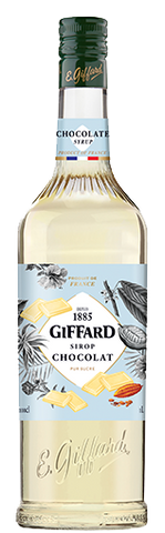 Giffard Chocolate Cacao White Syrup : 1000 ml