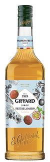 Giffard Passionfruit (Fruits dela Passion) Syrup : 1000 ml