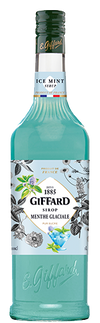 Giffard Ice Mint (Menthe Glacial) Syrup : 1000 ml