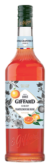 Giffard Pink Grapefruit (Pamplemousse Rose) Syrup : 1000 ml