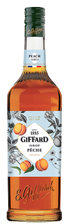 Giffard Peach (Peches) Syrup : 1000 ml