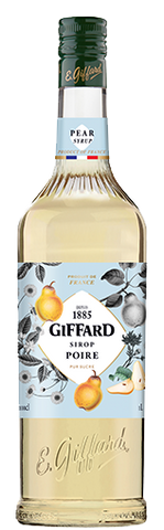 Giffard Pear (Poire) Syrup : 1000 ml