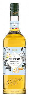 Giffard French Nougat Syrup : 1000 ml - Cafe Select