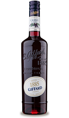 Giffard Blackcurrant Liqueur (Cassis dÕAnjou) Creme de Fruits : 700 ml