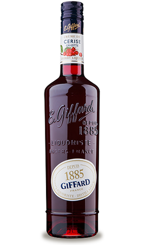 Giffard Cherry Liqueur (Cerise Griotte) Creme de Fruits : 700 ml
