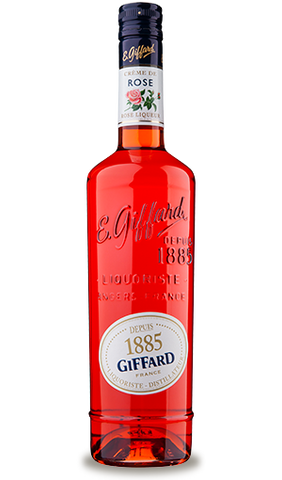 Giffard Rose Liqueur Creme de Fruits : 700 ml