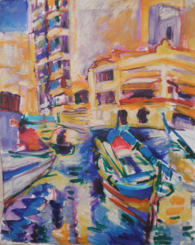 Boats at Spinola