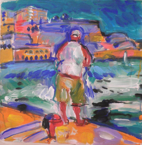 The Fisherman at Birgu Seafront