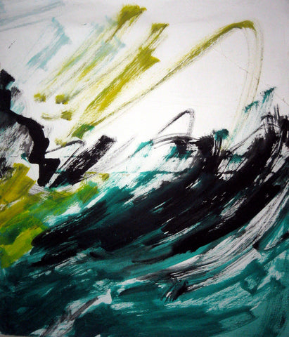 Abstracted Sea Waves