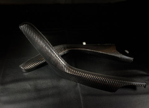 Synth Carbon Carbon Fiber Interior Trim for Civic X