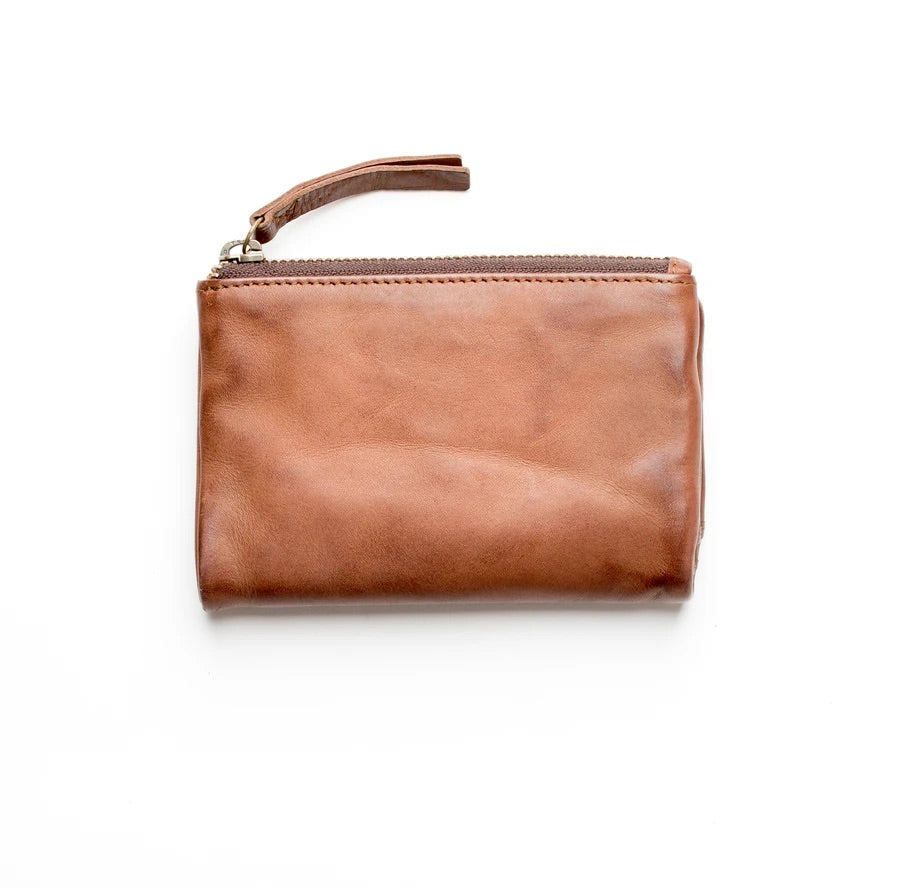 Small Capri Wallet V2- Cognac