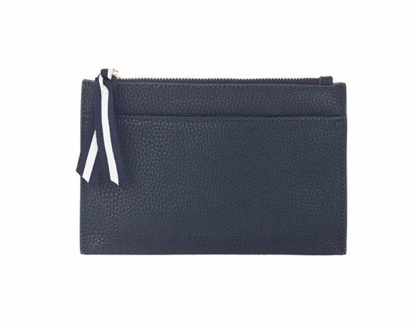 New York Coin Purse- French Navy