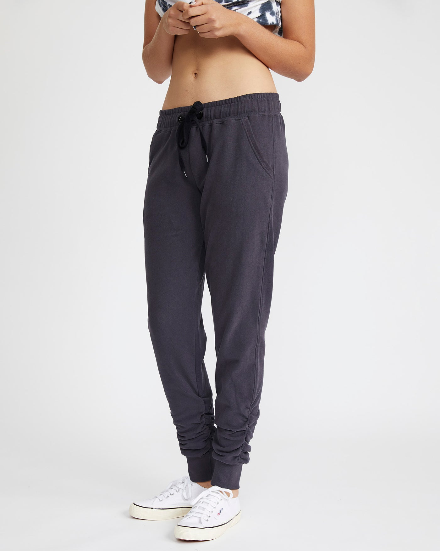 Sienna Sweat Pant- Vintage Black