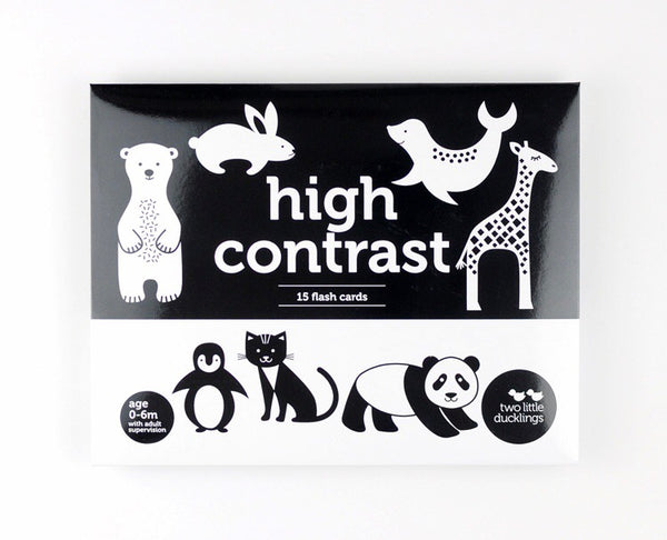 High Contrast Flash Cards