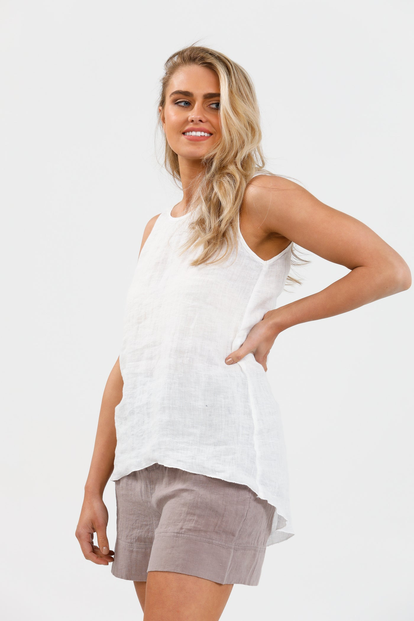 Numinous Top- White