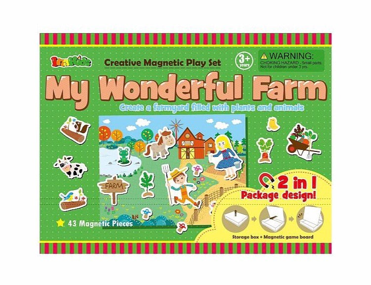 My Wonderful Farm Magnetic Set