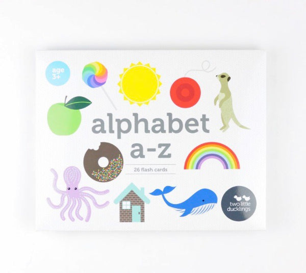 Alphabet A-Z Flash Cards