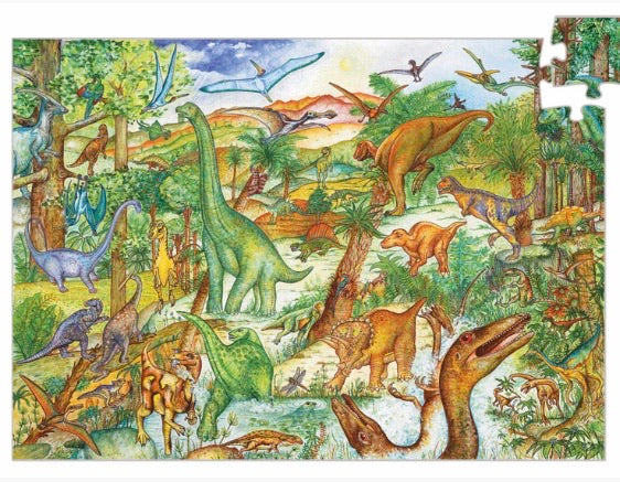 Dinosaurs 100pc Observation puzzle