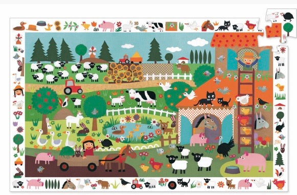 Pre Order The Farm 35 pce observation puzzle