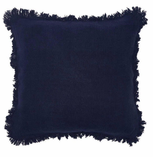 Luca Boho Navy Cushion 60X60cm