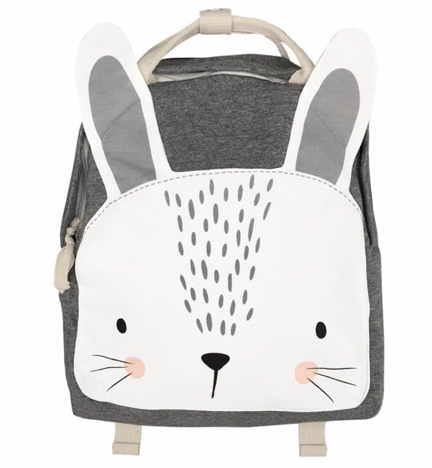 Backpack- Bunny Grey