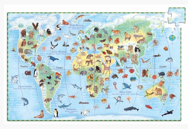 World Animals 100 pce Observation Puzzle