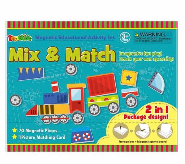 Mix and Match Magnetic Activity Set