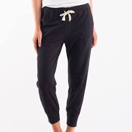 Elm Wash Out Lounge Pant- Black