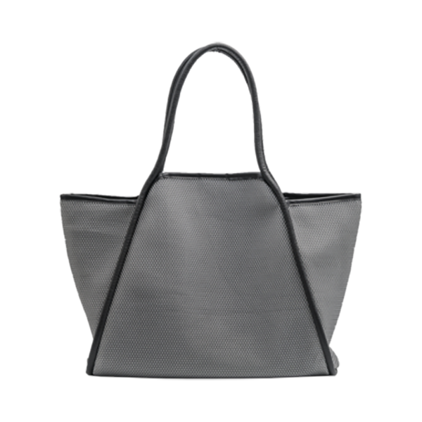 Mesh Tote Bag- Grey