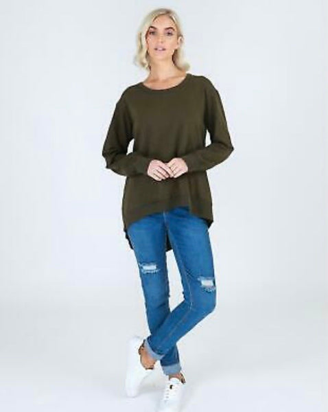 Newhaven Sweater- Sage