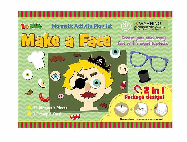 Make a Face Magnetic Activity Set
