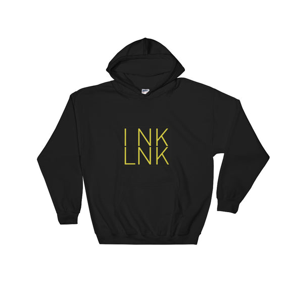 Black Hooded InkLnk Sweatshirt