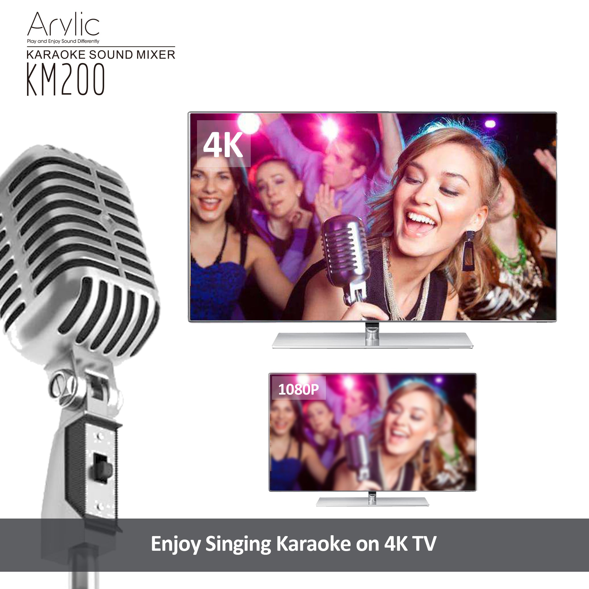 best home karaoke mixer hdmi