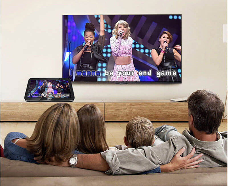 home karaoke player with HDMI output