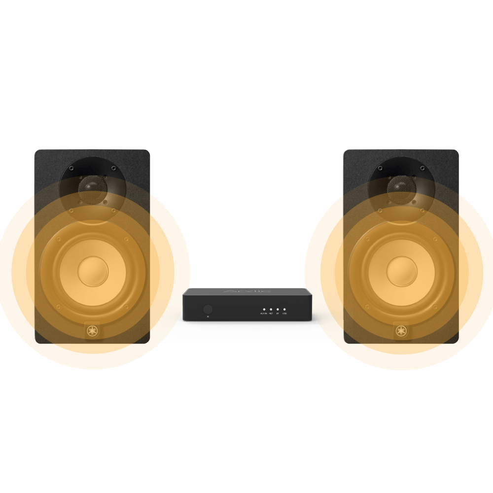 interface of wireless preamp