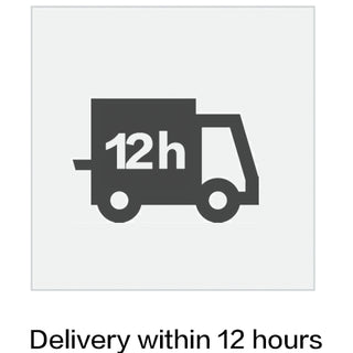 Delivery within 12 hours