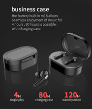 Load image into Gallery viewer, True Wireless Bluetooth 5.0 HiFi Stereo Earbuds With Charging Box - arylic