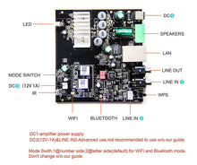 Load image into Gallery viewer, UP2STREAM WIFI&BT AMP BOARD - arylic