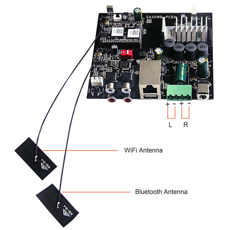 UP2STREAM WIFI&BT AMP BOARD