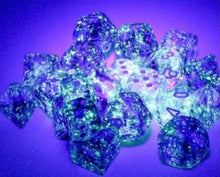 Chessex Nebula Nocturnal/blue Luminary 7 piece set - pre order