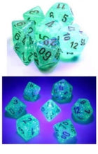 Chessex Borealis Light green/gold Luminary set - pre order