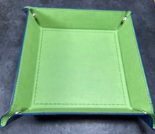 Green Collapsible Square Dice Tray
