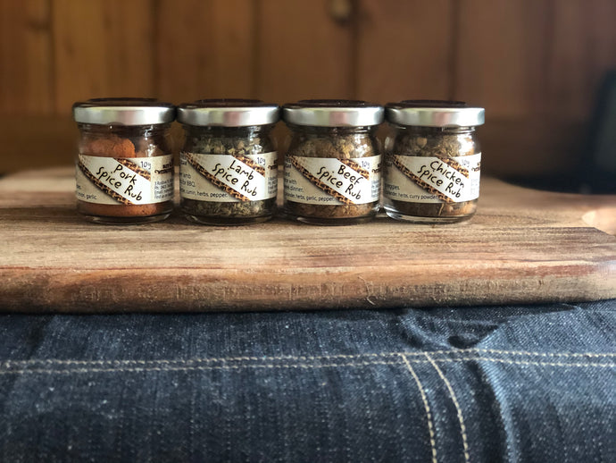 Spice Rub Mini 4 Pack