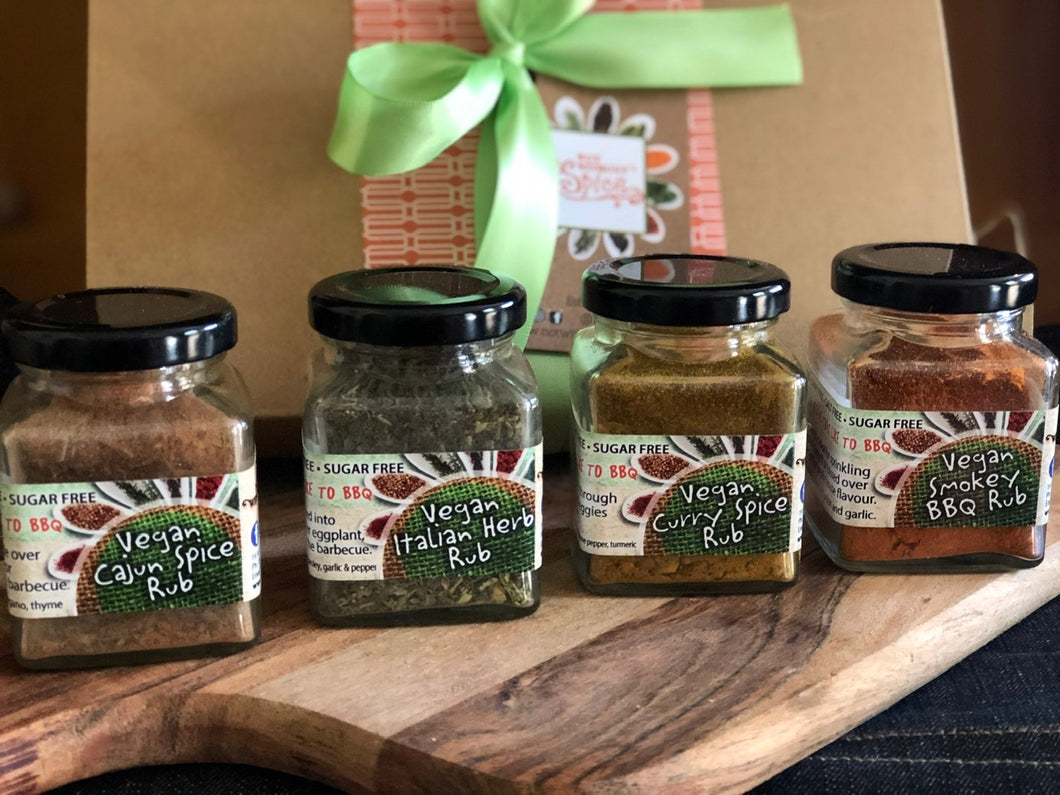 Vegans Who Like To BBQ Hamper Box - Vegan Rubs